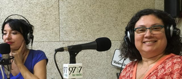 Entrevista en la 97,7 Radio con Ramiro Segrelles y Ata Gomis
