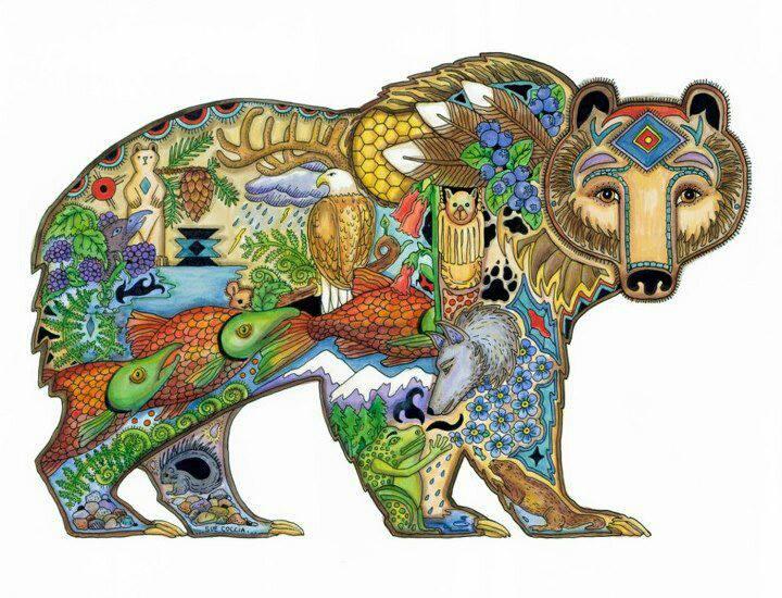 oso pintado