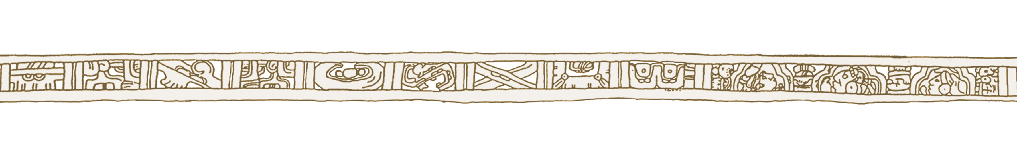 cenefa marrón
